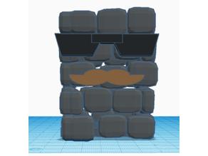 brick wall cup