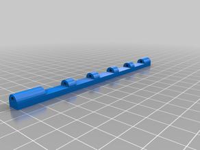 printable case for 2mm fiber optic rod 120mm x 7 mm