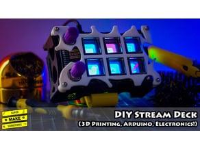 DIY Stream Deck (3D Printing, Arduino, Electronics!)