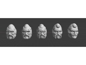 Sci Fi Ganger Heads