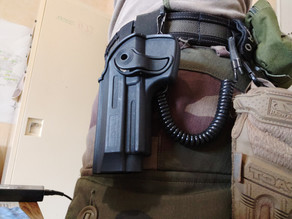40mm belt interface for IMI/Cytac Holster
