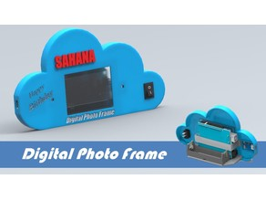 Digital photo frame using arduino and 2.4 inch TFT Shield