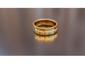 The one ring lord of the rings.