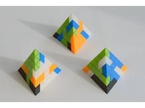 Parametric Pyramid Puzzle