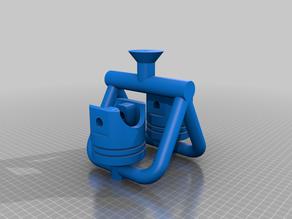 Bohaboy-Haas Poppet Valve Steam Engine