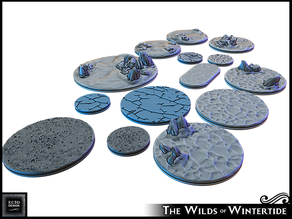 "1 - 3"" bases - Wilds of Wintertide"