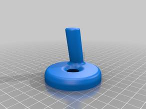 Magnetic Paint Tin Holder - 1oz Round