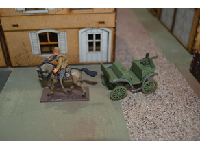28mm Soviet Tachanka/тача́нка Cart - WW2