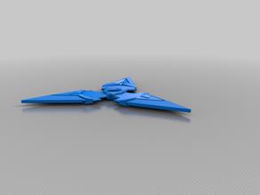 double sided shuriken