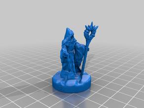 Dark Wizard 28mm Support Free