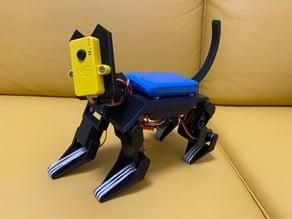 Servo Robot Cat EMAX Prototype 1