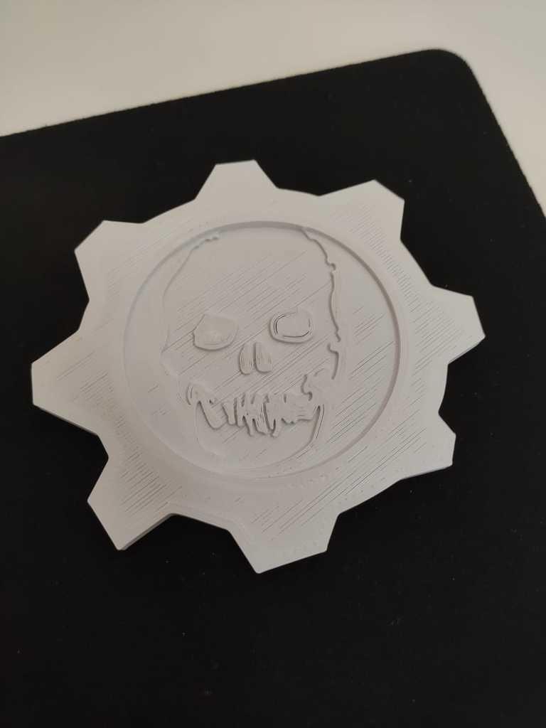 Gears of War Coasters
