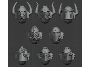 4th Legion Helmets