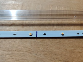 20mm Extrusion Mount for Ikea Ledberg LEDs