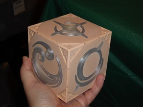 Key of Aaravos - illuminated working prop