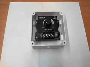 LED Dimmer DC12-24V 30A 360W ENCLOSURE (BOX)