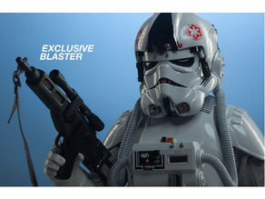 AT-AT Driver; Blaster Rifle (Sideshow exclusive)