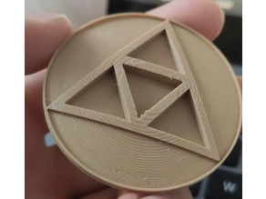 Triforce badge