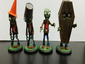 PVZ 28mm figures remix