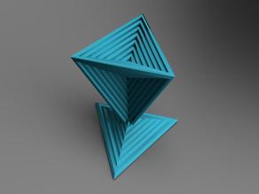 Decoration Tetrahedron