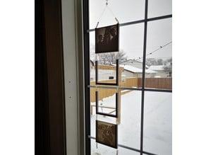 Window Bling lithophane holder