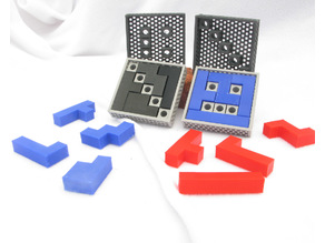 Two Pocket Puzzles - Fill the Boxes