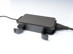 Apple Mac style cable collector for surface charger