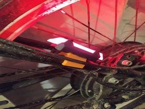 Rear Bike Light clip 19mm tube