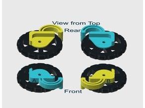 Ender 3/Pro Thumb Wheel Detent Clips