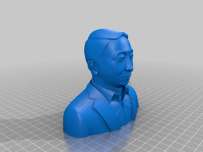 Andrew Yang Bust