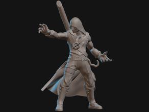 Human Warlock Miniature