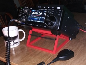 Simple ICOM 7300 radio stand