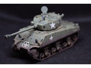 M4A3 Sherman 76mm 1:56 (28mm)(75mm option)