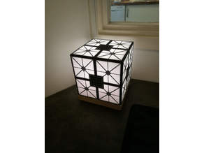 Hypercube lamp (single extruder)
