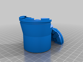 Super simple rubber band clamp Mini Holder