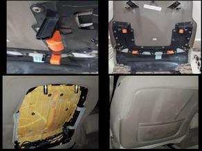 Chevrolet tahoe 2015 seat panel fix