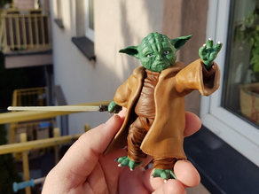 Yoda bookend by Huanksta no stand