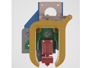 BantaMount base for SpeedDrive v1 - Ender 3 direct drive mount