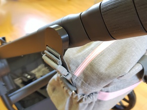 Diaper Bag Holder Clip for Stroller (Baby Jogger City Select Lux)