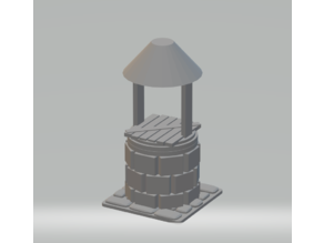 FHW: Well,Well,Well 28mm scale (capped well)