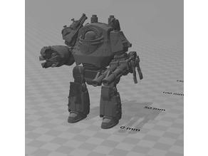 Raven Guard Contemptor Dreadnought 'Head Hunter'