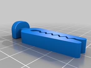 Curtain clip slider