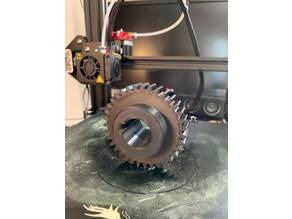 Big gear Do=70 mm with modul=2mm