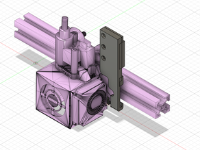 Ender 5 carriage cable loom support