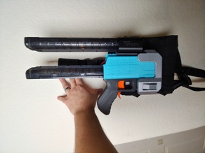 The Tenacious Tension Holster for OOD Jupiter Blaster