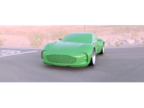 Aston Martin One-77 for Open Z drift V5 98mm.