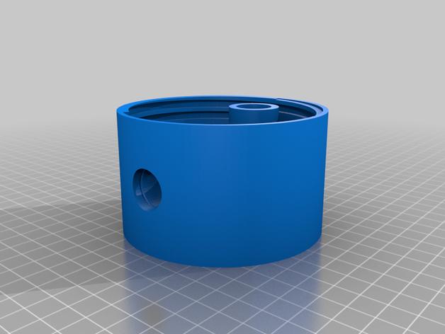 Mason Jar Gravity Bong