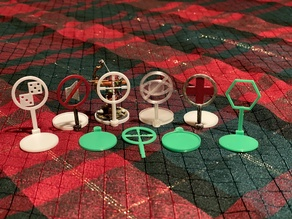 D&D miniature spell and condition markers