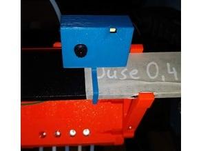 ESP Cam housing + (Prusa i3 holder) Flash, Reset, perfect fit (Fusion36o File)