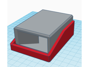 Folding mini dice tower